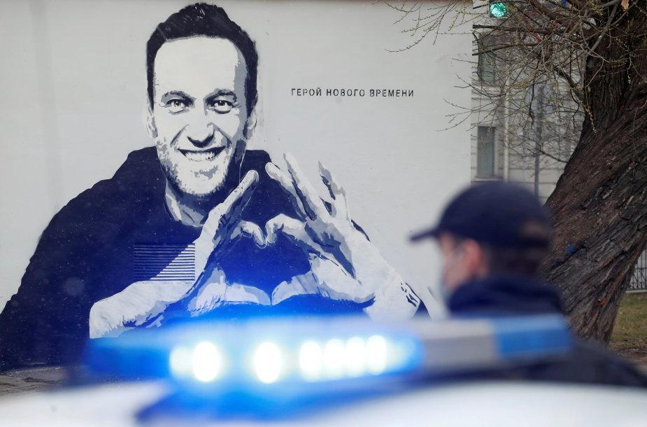 Aleksejaus Navalno atvaizdas