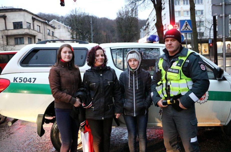 Moters dienos proga – Kauno policijos pareigūnų staigmena