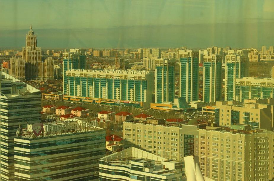 Astana iš aukštai
