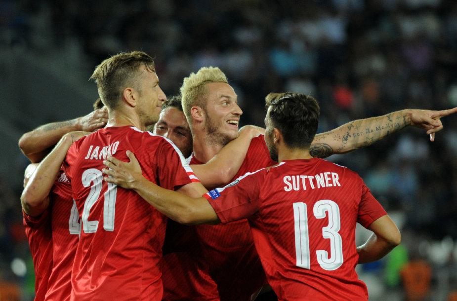Austrijos futbolo rinktinė