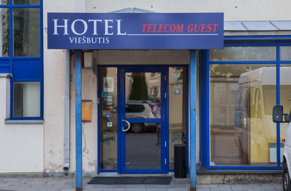 """Viešbutis """"Telecom Guest"""""""