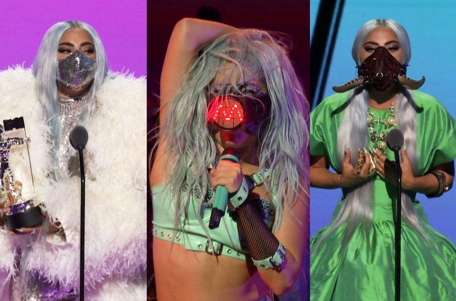 Lady Gaga 2020 metų MTV apdovanojimuose