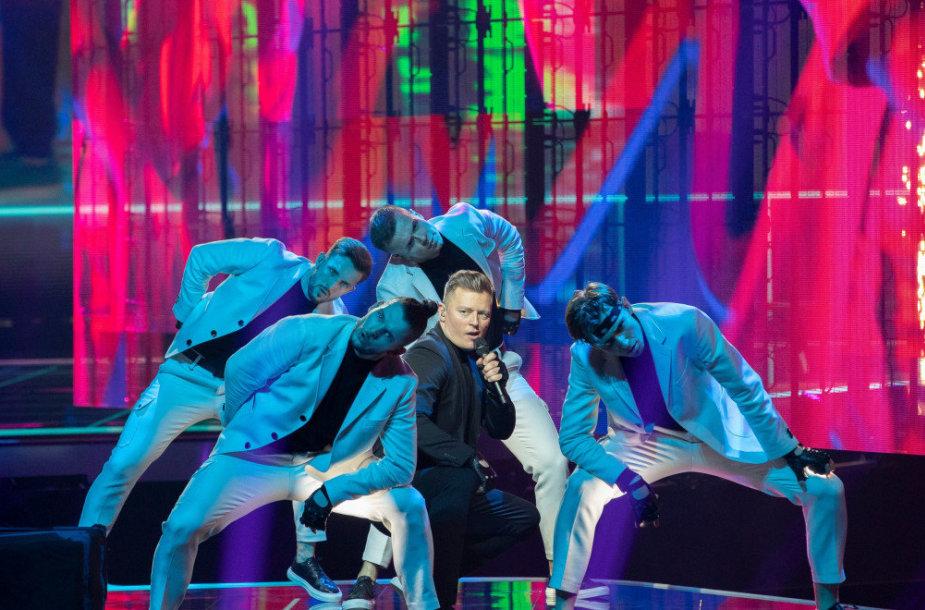 """Lenkų atsotvai """"Eurovizijoje"""", 2021"""