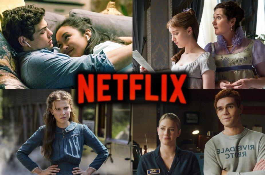 """Kadras iš """"Netflix"""" filmų ir serialų"""