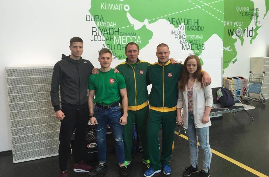 Lietuvos rinktinė pasaulio Muaythai čempionate Švedijoje