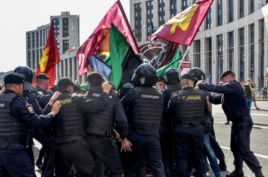 Rusijoje opoziciniai judėjimai pastaraisiais metais buvo smaugiami