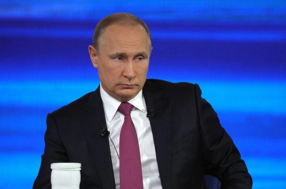 Kasmetinis V.Putino klausimų ir atsakymų maratonas