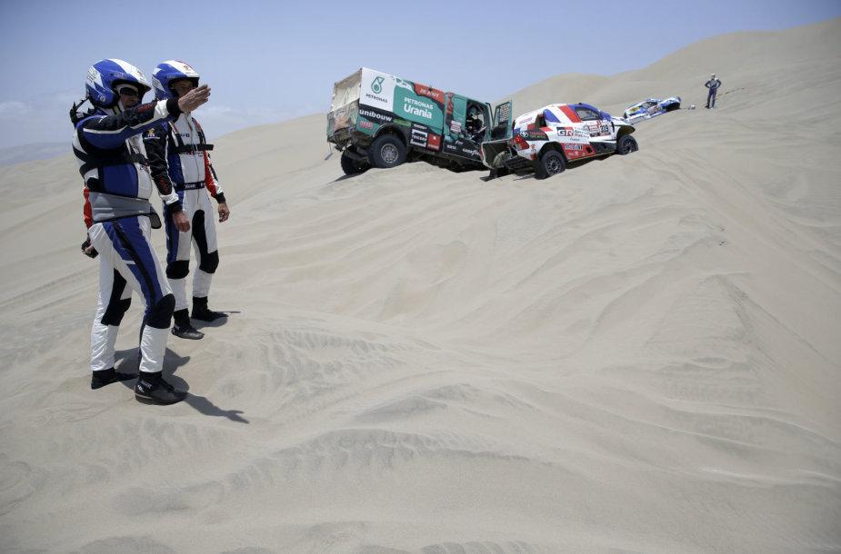Įspūdingiausi 2019 metų Dakaro ralio kadrai