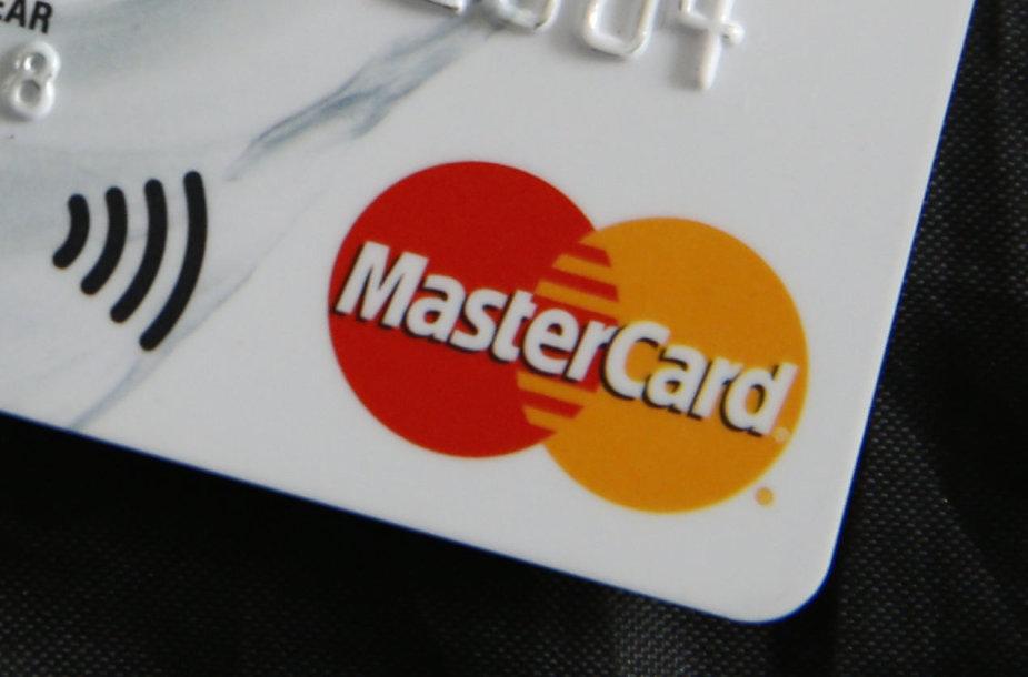 """Mastercard"" kortelė"