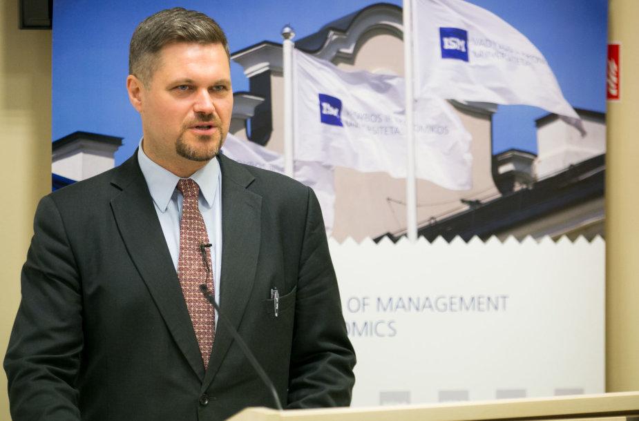 ISM Vadybos ir ekonomikos universiteto Ekonomikos ir politikos programos direktorius doc. dr. Vincentas Vobolevičius