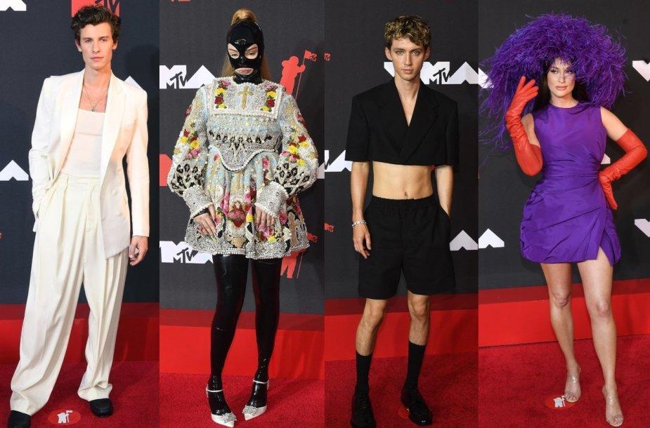 MTV apdovanojimų svečiai