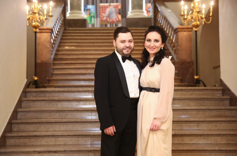 Rafailas Karpis ir Diana Daunoravičiūtė