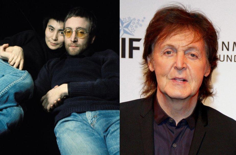 Yoko Ono, Johnas Lennonas, Paulas McCartney