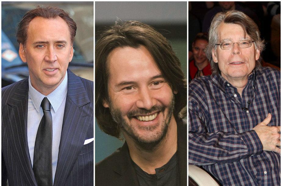 Nicolas Cage'as, Keanu Reevesas, Stephenas Kingas