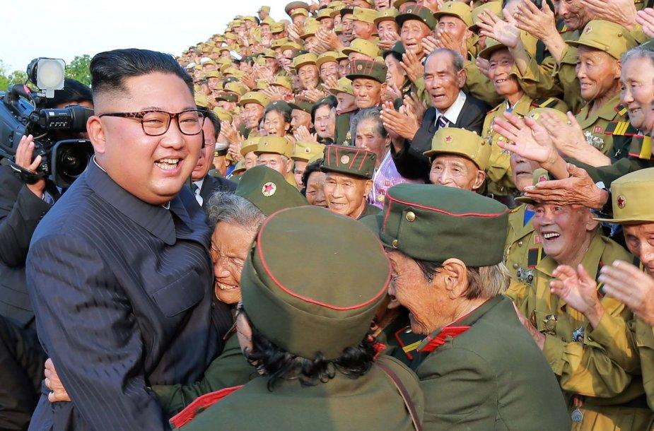 Šiaurės Korėja mini 1950–1953 metų karo pabaigos metines