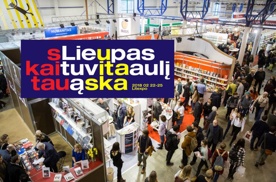 Vilniaus knygų mugės tema 2018 metais