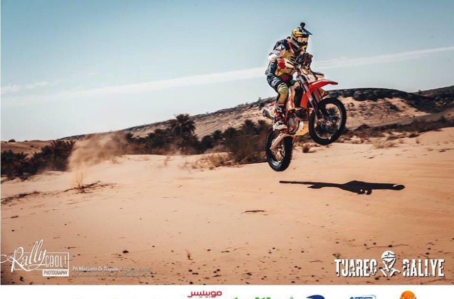Arūnas Gelažninkas Tuarego ralyje