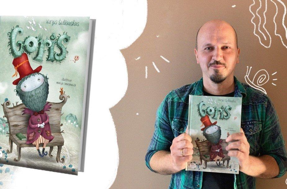 """Virgis Šidlauskas ir knyga """"Goris"""""""