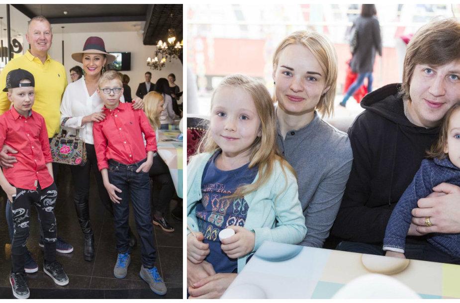Ingos Budrienės ir Mariaus Repšio šeimos