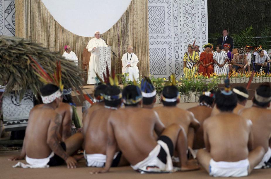 Popiežiaus Pranciškaus vizitas Peru
