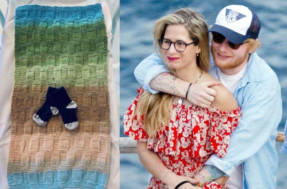 Edui Sheeranui ir Cherry Seaborn gimė vaikas