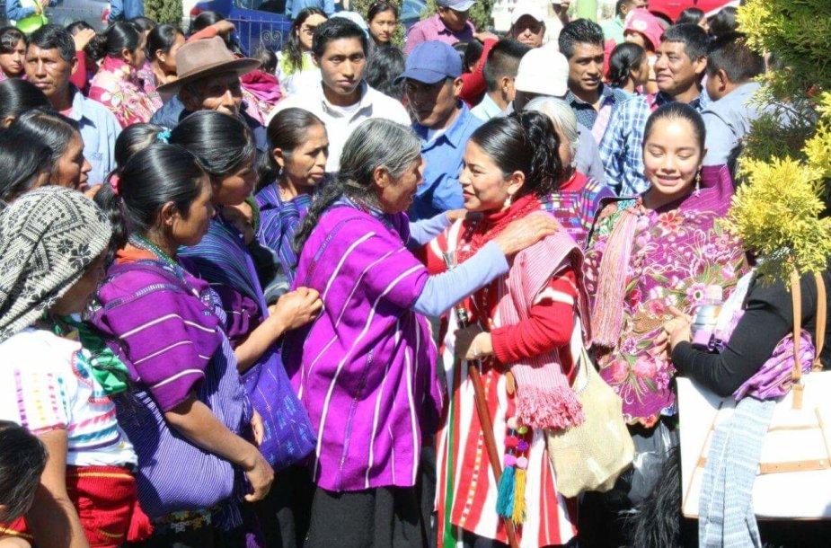 Moterims Meksikoje tenka stipriai kovoti už savo teises