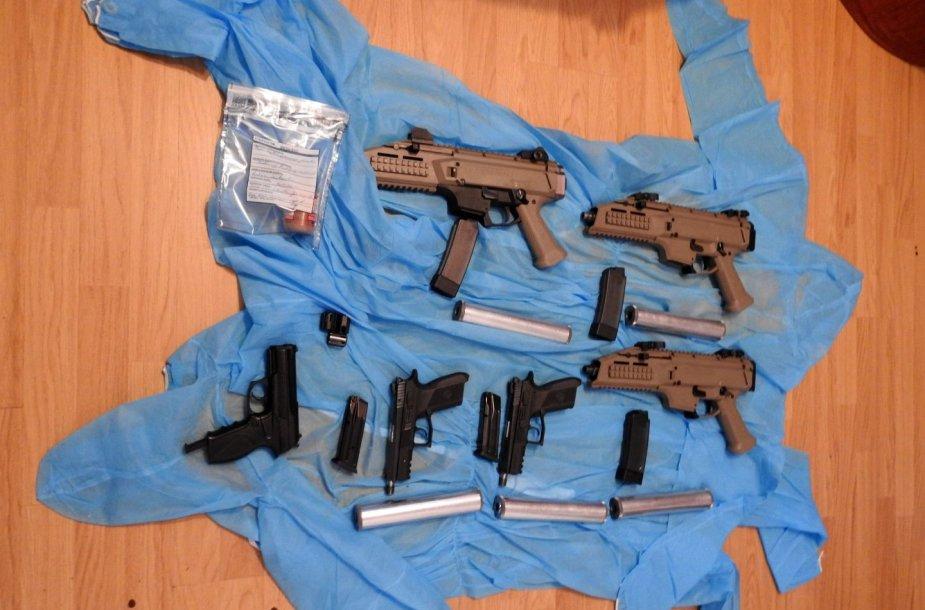 Visi sulaikyti ginklai