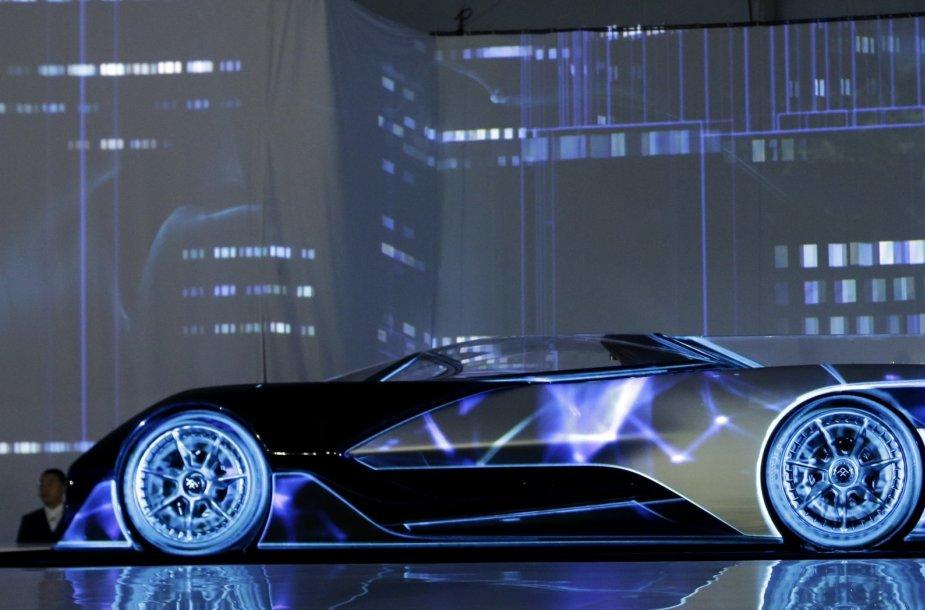 FFZero1 – elektromobilio koncepto pristatymas