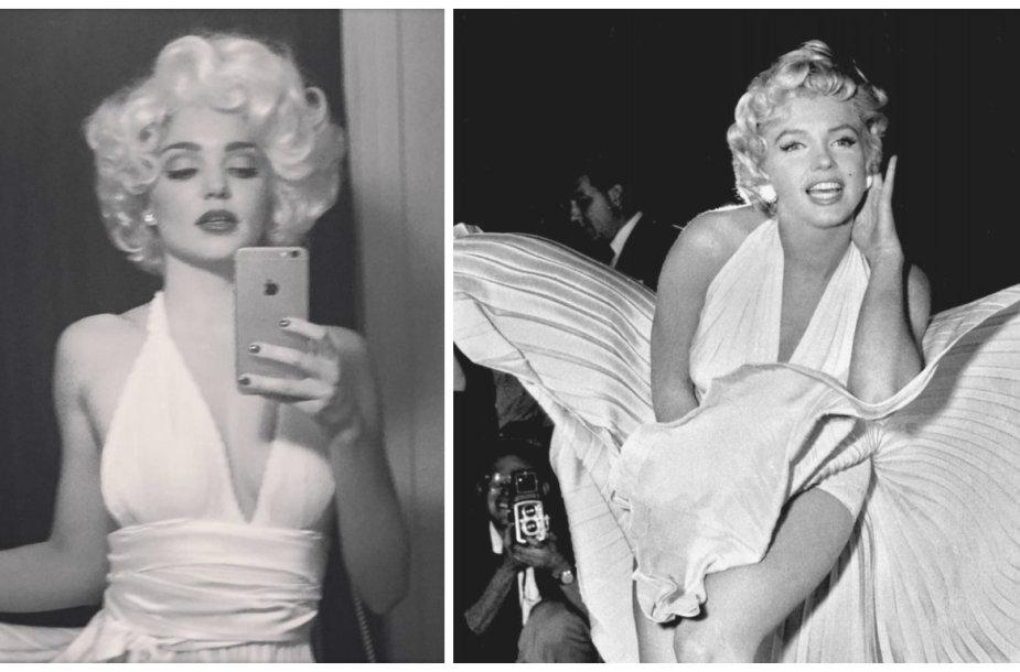 Miranda Kerr ir Marilyn Monroe