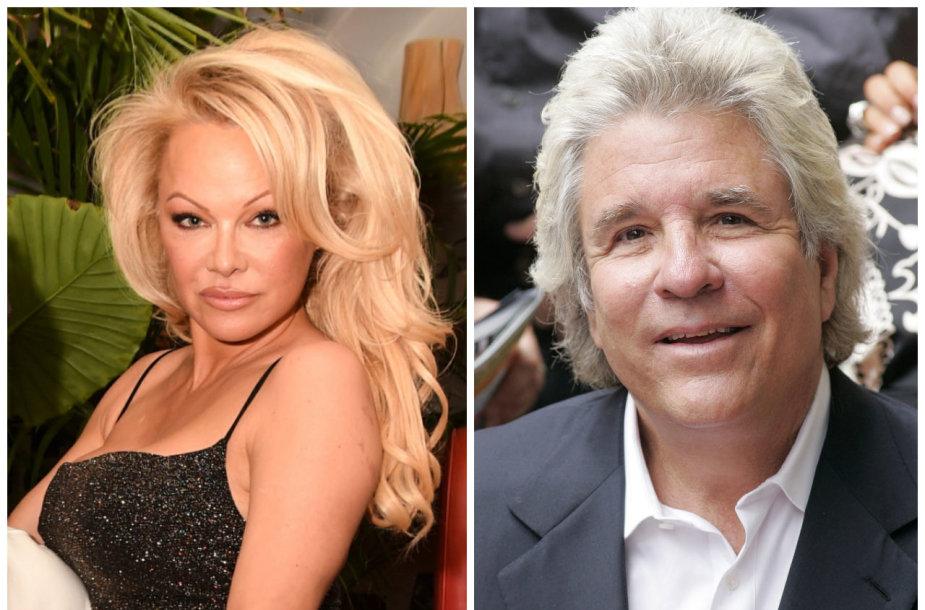 Pamela Anderson ir Jonas Petersas