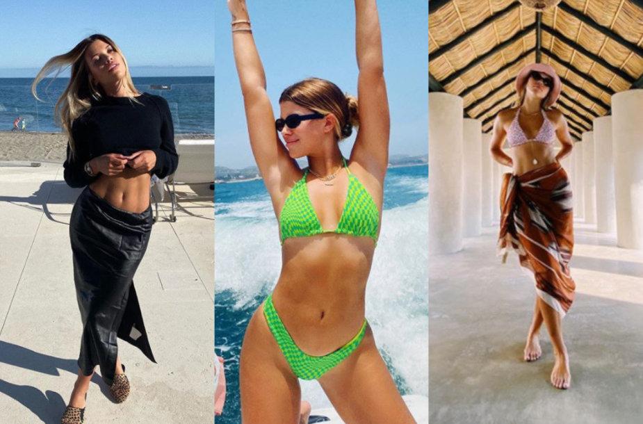 Sofia Richie atostogauja Meksikoje