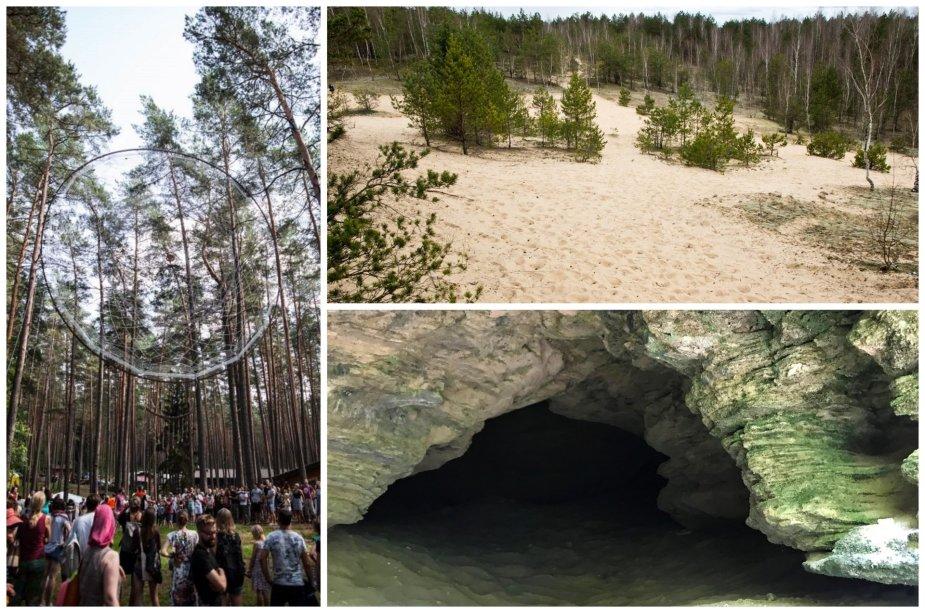 Kur rasti įdomiausias vietas Lietuvos miškuose