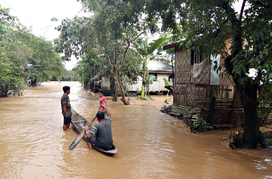 Audros padariniai Filipinuose