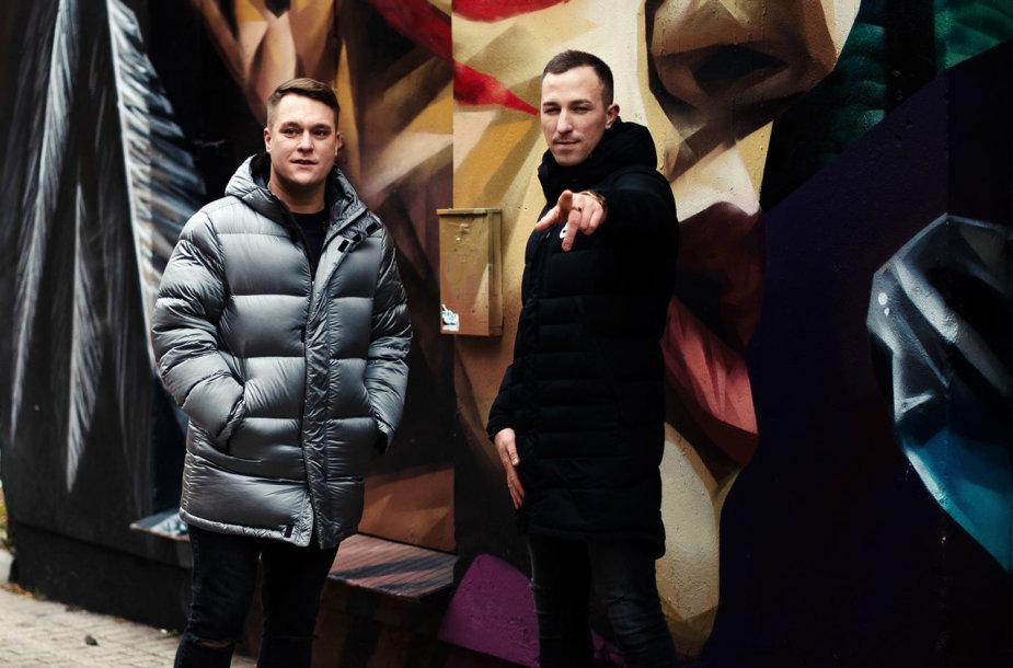 Donatas Čižauskas ir Karolis Akulavičius