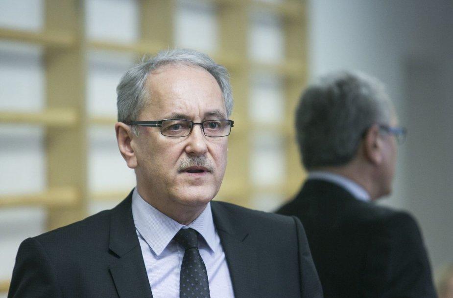 Centro poliklinikos direktorius Kęstutis Štaras