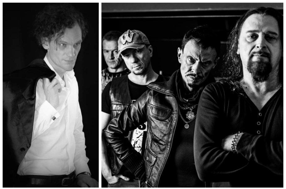 """Adomas Stančikas ir roko muzikos grupė """"Rebelheart"""""""