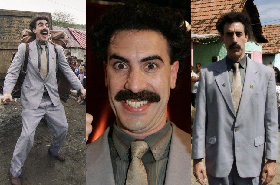 Sachos Barono Coheno personažas Boratas