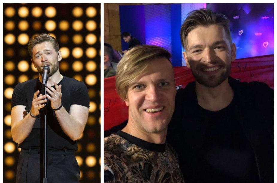 Jurijus Veklenko ir Povilas Varvuolis