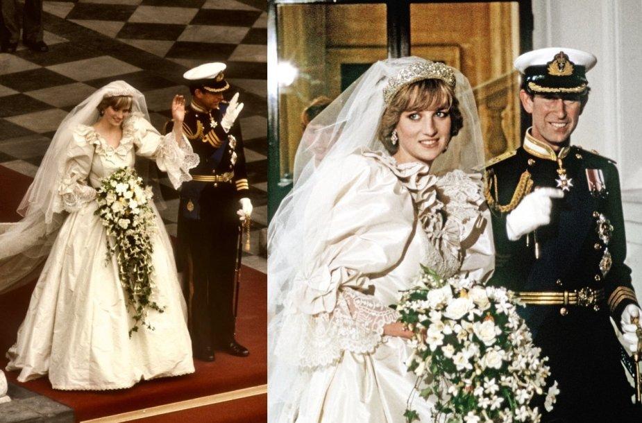 Princesės Dianos ir princo Charleso vestuvės 1981 m.