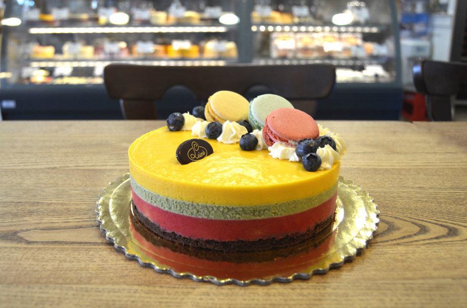 """Cukrainės """"Laimė"""" tortas """"Šimtmetis"""""""