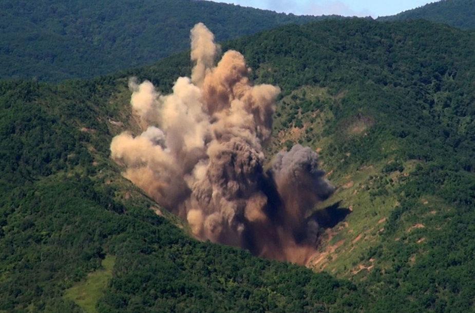 Pietų Korėja susprogdino daugiafunkcines bombas MK-84
