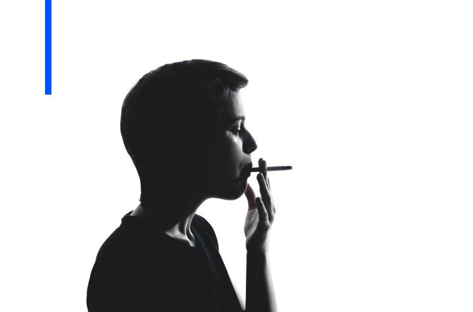 Rūkantis vaikas
