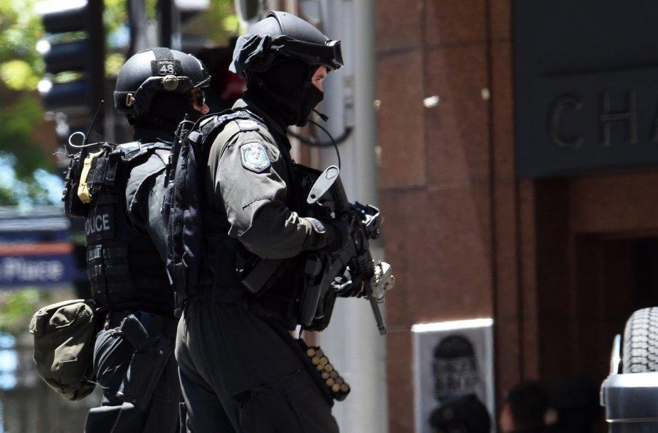 Įkaitų drama Sidnėjuje