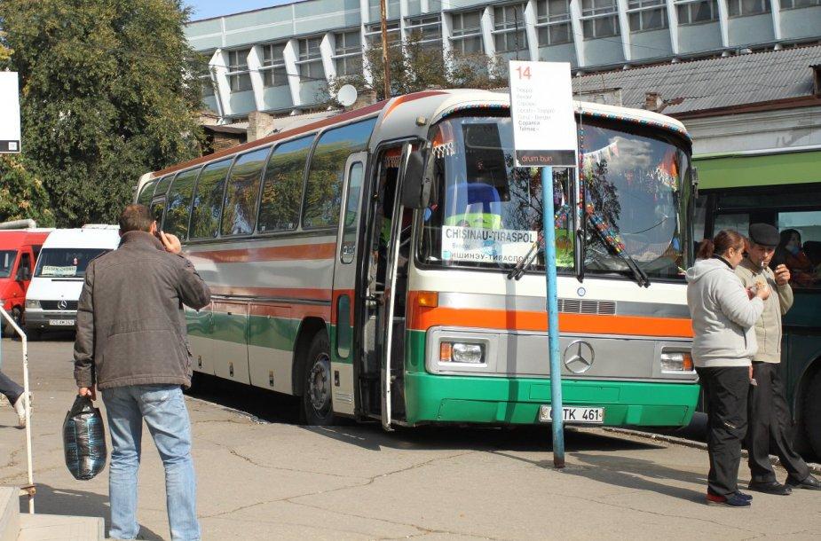 Autobusas į Tiraspolį