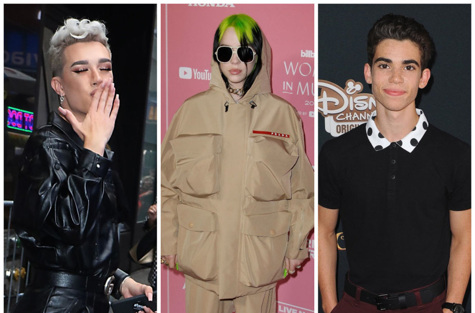 Jamesas Charlesas, Billie Eilish ir Cameronas Boyce'as