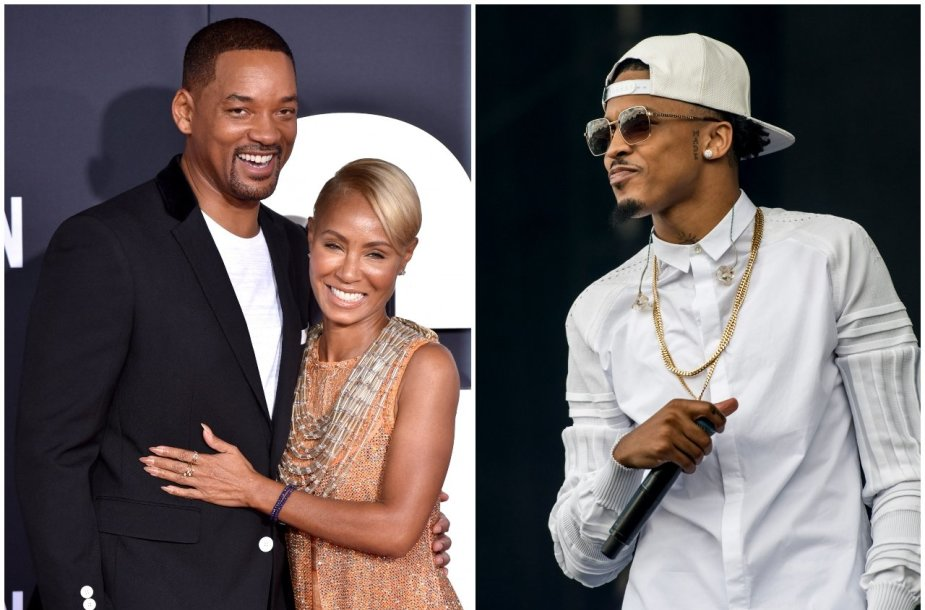 Willas Smithas, Jada Pinkett Smith, Augustas Alsina