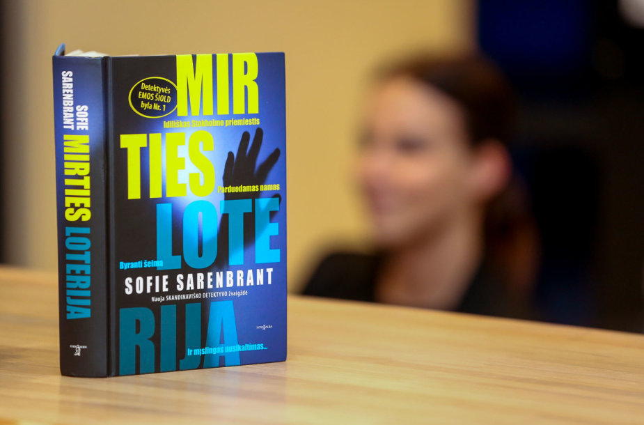 """Sofie Sarenbrant romanas """"Mirties loterija"""""""
