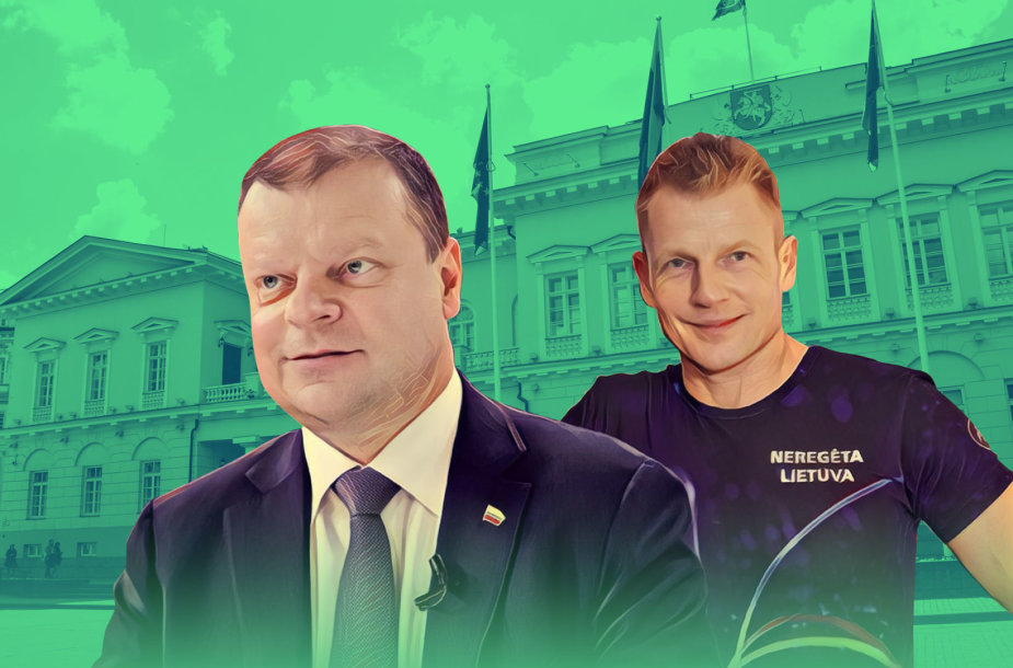 Saulius Skvernelis, Marius Jovaiša