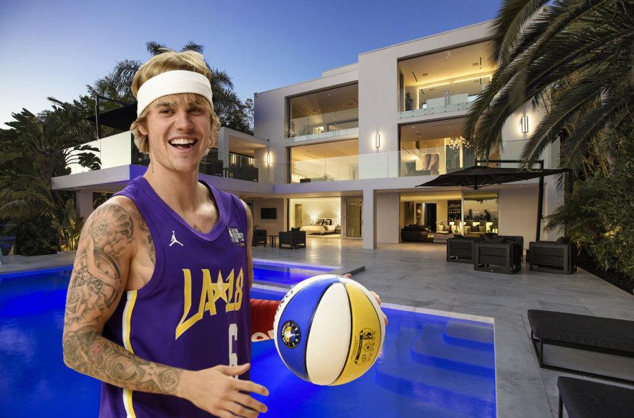 Justinas Bieberis išsinuomojo naujus namus Los Andžele