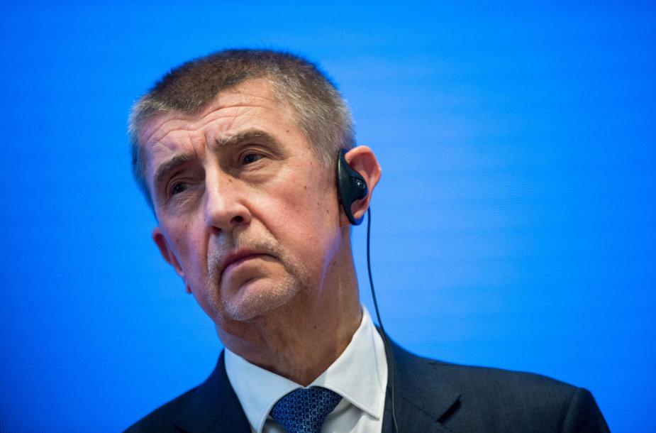 Čekijos premjeras Andrejus Babišas